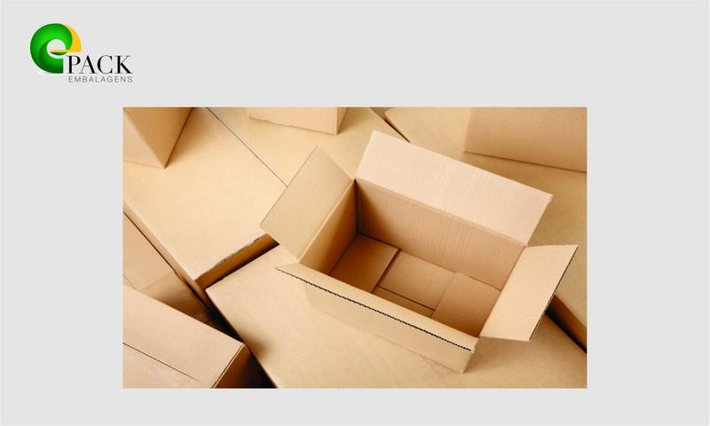 Caixa de papelão para mudança comprar
