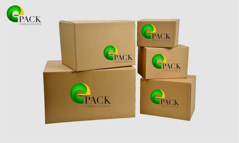 Caixas para encomendas correios