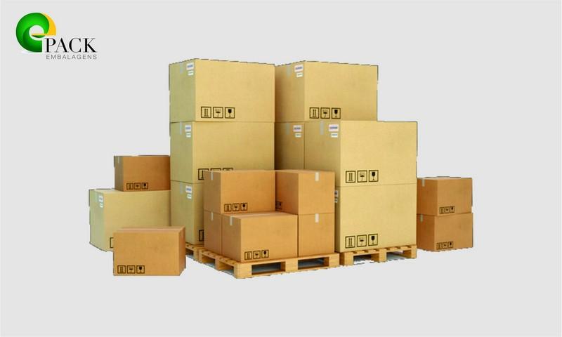 Caixas de papelão para industria