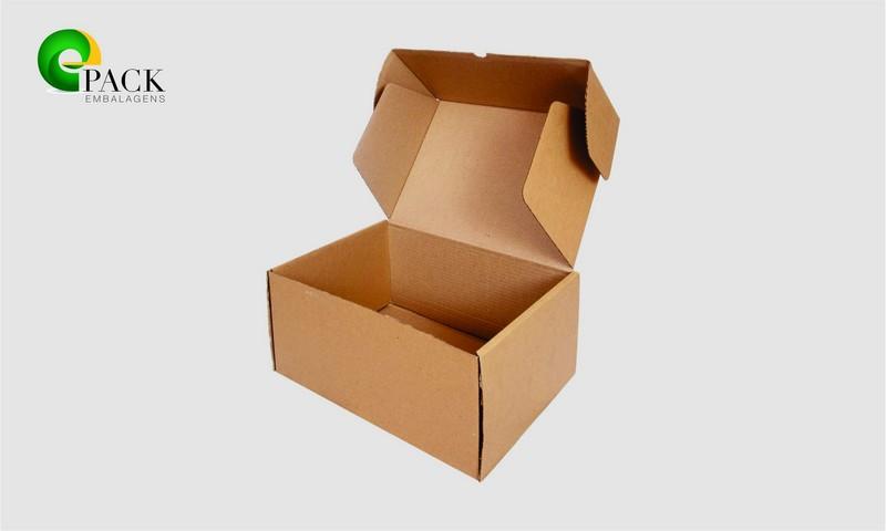 Caixas de papelão para sedex