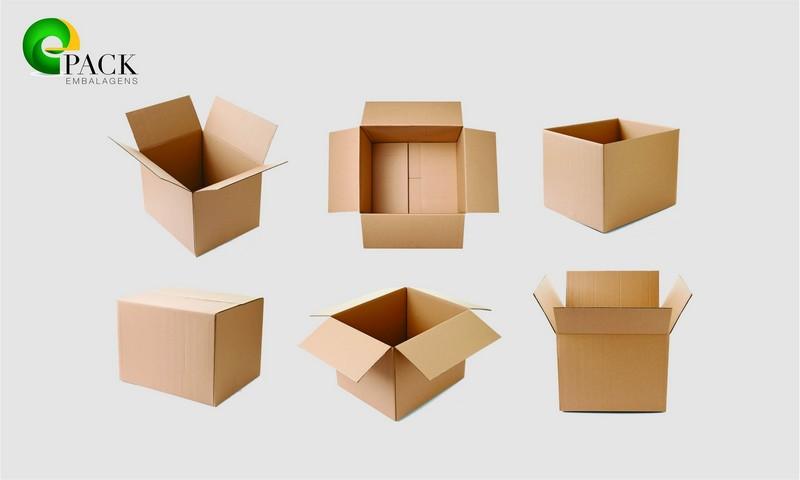 Embalagens de papelão sob medida