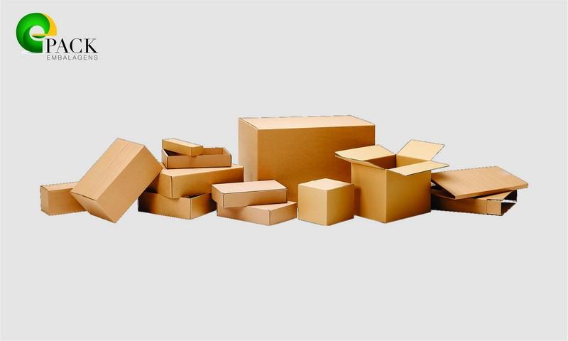Embalagens de papelão sp