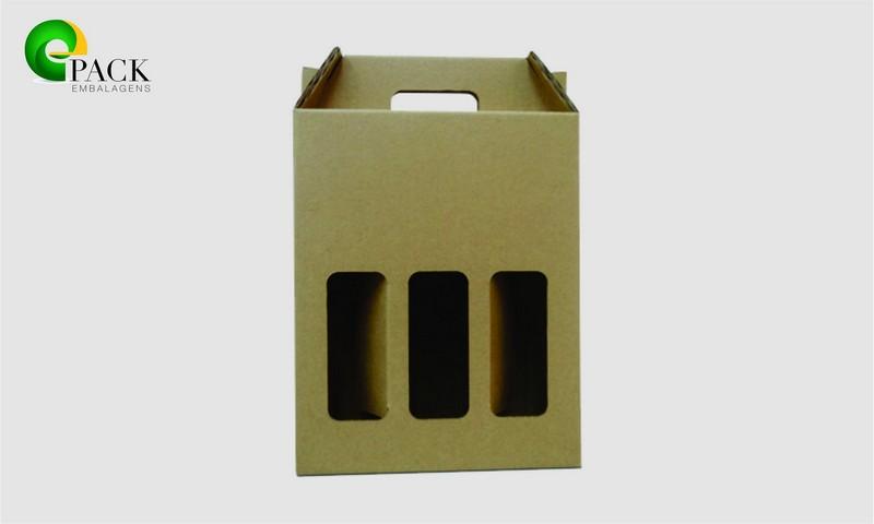 Embalagens para transporte de garrafas