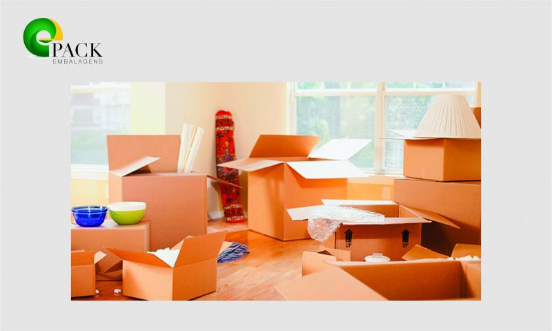Fabrica de caixa de papelão para mudança