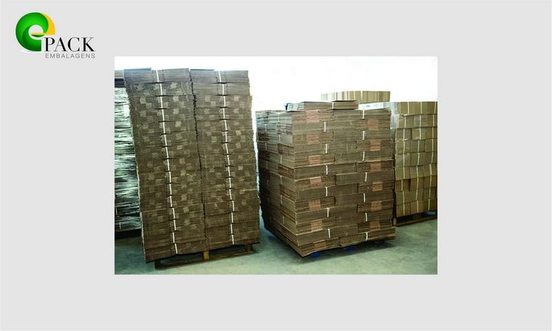 Fabrica de embalagens de papelão