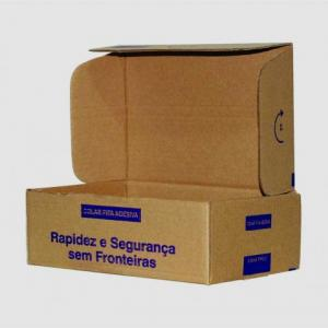 Embalagens para transporte correios
